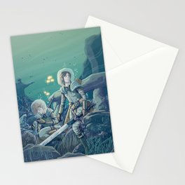 20 000 lieues Stationery Cards