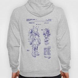 1973 NASA Apollo Astronaut Space Suit Patent Hoody