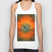 decorative Tank Tops featuring Decorative design by nicky2342