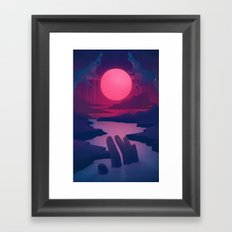 Here Comes the Flood Framed Art Print