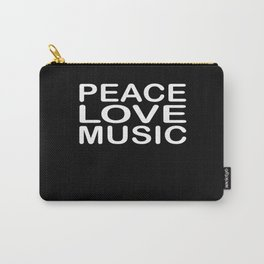 Peace Love Reggae Carry-All Pouch