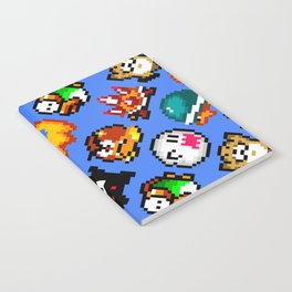 Super Mario World | Enemies Pattern Notebook