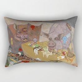 The Last Supper Rectangular Pillow