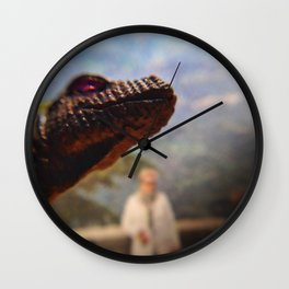 Monster view Wall Clock