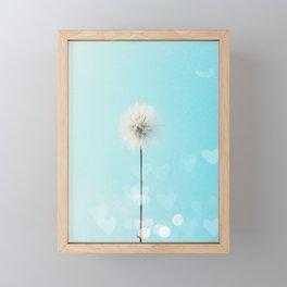 make a wish... Framed Mini Art Print