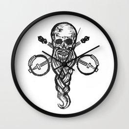 Bitches, Booze & Banjos Wall Clock