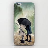 waves iPhone & iPod Skins featuring Waves by Cs025