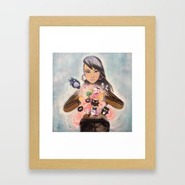 Inner Child Superstar Framed Art Print