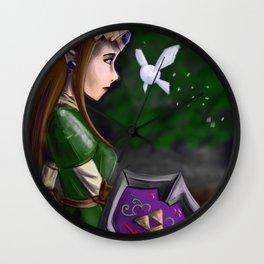 Zelda and Navi Wall Clock