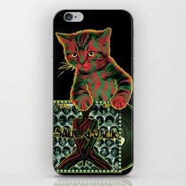 Tribe Cat iPhone Skin