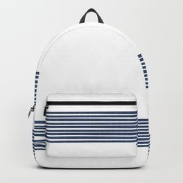 Band in Navy Backpack
