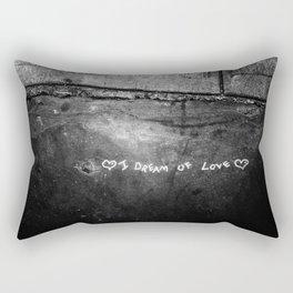 New York City I Dream of Love Rectangular Pillow