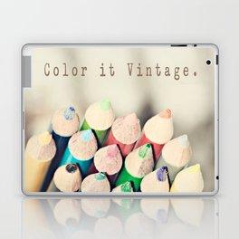 Color it Vintage Laptop & iPad Skin