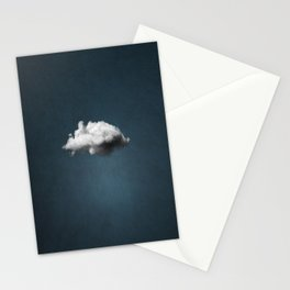 WAITING MAGRITTE Stationery Cards