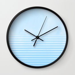 Sweet Life Collection Gradient Blue Raspberry Wall Clock