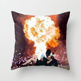 Love in the End Throw Pillow