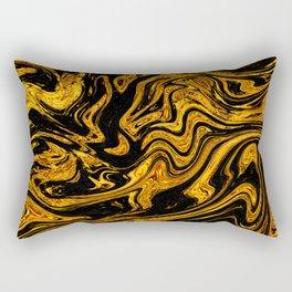 Marbled XII Rectangular Pillow