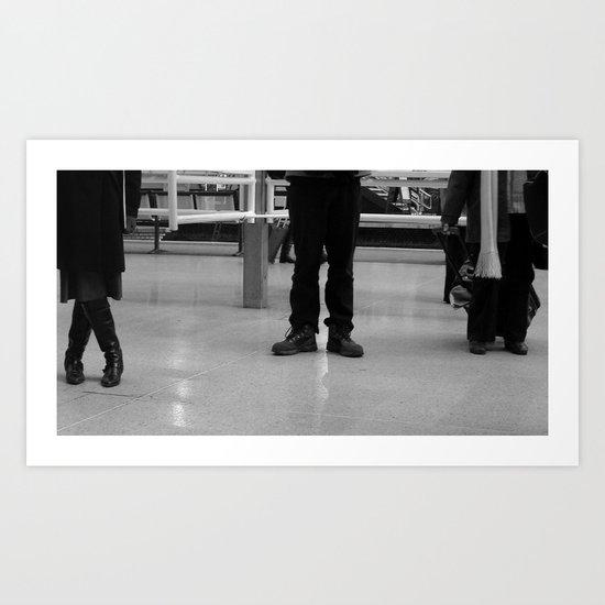 Waiting #50 Art Print
