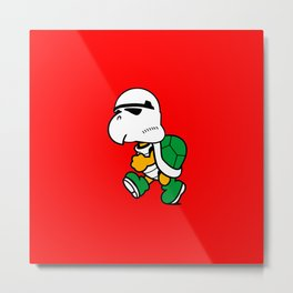 Koopa Trooper Metal Print
