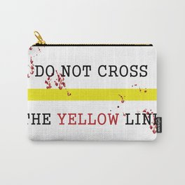 The Yellow Line Carry-All Pouch