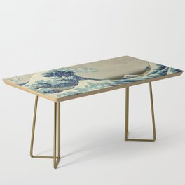 The Great Wave off Kanagawa Coffee Table