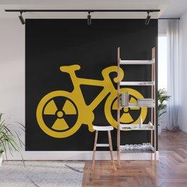 Radioactive Bicycle Wall Mural