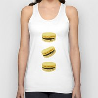 macaroons Tank Tops featuring Macaroons by Maramgaram