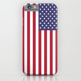 National flag of USA - Authentic G-spec 10:19 scale & color iPhone Case