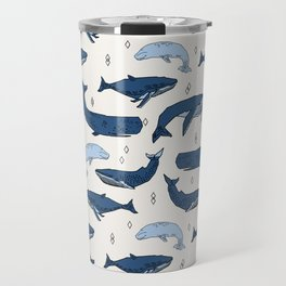 Whales by Andrea Lauren Travel Mug