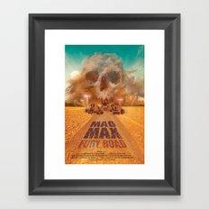 Mad Max - Fury Road Framed Art Print