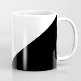 Trichromatic Aqua Blue Coffee Mug