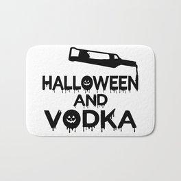 Halloween and Vodka Bath Mat