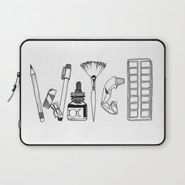 Art Tools of the Craft Laptop Sleeve