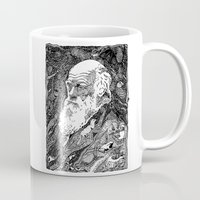 darwin Mugs featuring 'Darwin' by Sarah King by We Are West Coast