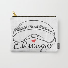 """Chicago Cloud Gate """"Bean"""" Carry-All Pouch"""