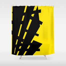 Flag of Information Shower Curtain