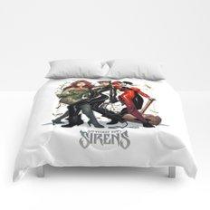 Sirens Gotham city Comforters