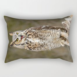 Bad Attitude Rectangular Pillow