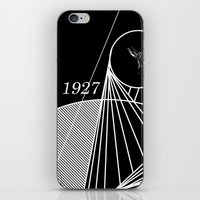 metropolis iPhone & iPod Skins featuring Metropolis by Federico Leocata LTD