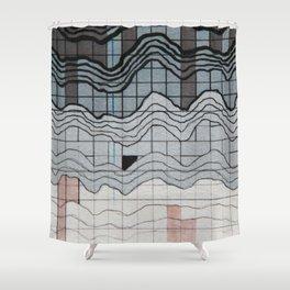 Wave Length Shower Curtain