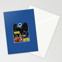 Fatman and Big Belly Stationery Cards