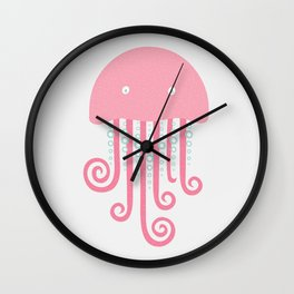 sea creature #2 Wall Clock