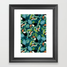 Toucan Tropics Framed Art Print