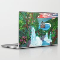 neverland Laptop & iPad Skins featuring Neverland by Jadie Miller