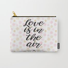 All about Love and Lovers Typography Carry-All Pouch