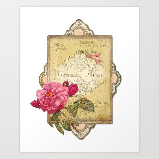 Paris Perfumery Art Print
