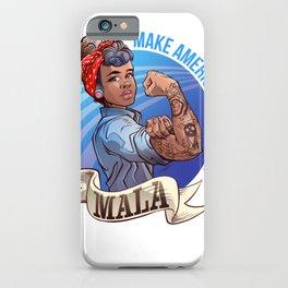 MALA - Make America Love Again iPhone Case