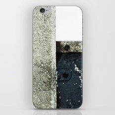 White Blue Concrete iPhone & iPod Skin