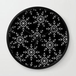 Give Me a Black & White Christmas - 3 Wall Clock