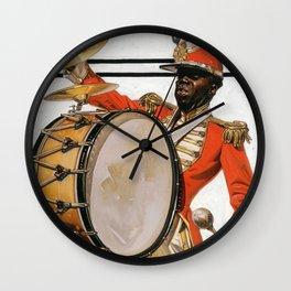 Joseph Christian Leyendecker - Bass Drummer - Digital Remastered Edition Wall Clock